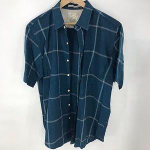Tasso Elba Island Linen blend shirt